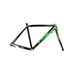06155 Quadro TR 20 speed bike TSW preto e verde fluorescente