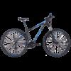 7028 Bicicleta Hunter 2017 mtb azul e preto TSW