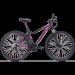 Bicicleta Posh preto e lilás mtb TSW