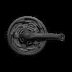 04159 Engrenagem Tripla com braço e protetor MITSU preto