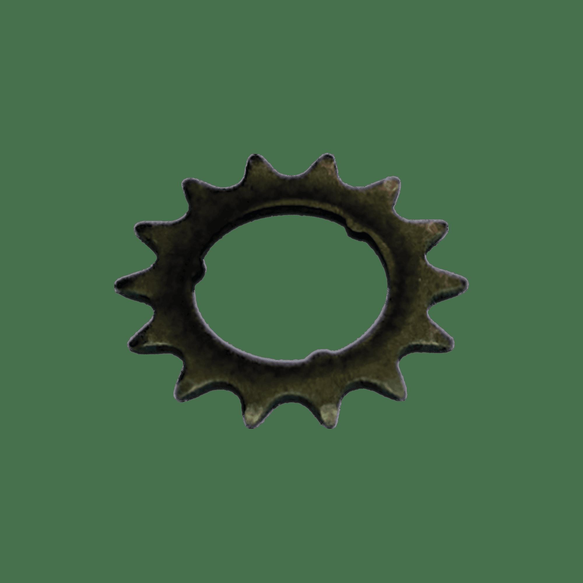 00588 Pinhão fixo encaixe 14 dentes VELOSTEEL bronze