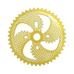 00714 Engrenagem ZX 042 44D MITSU amarelo