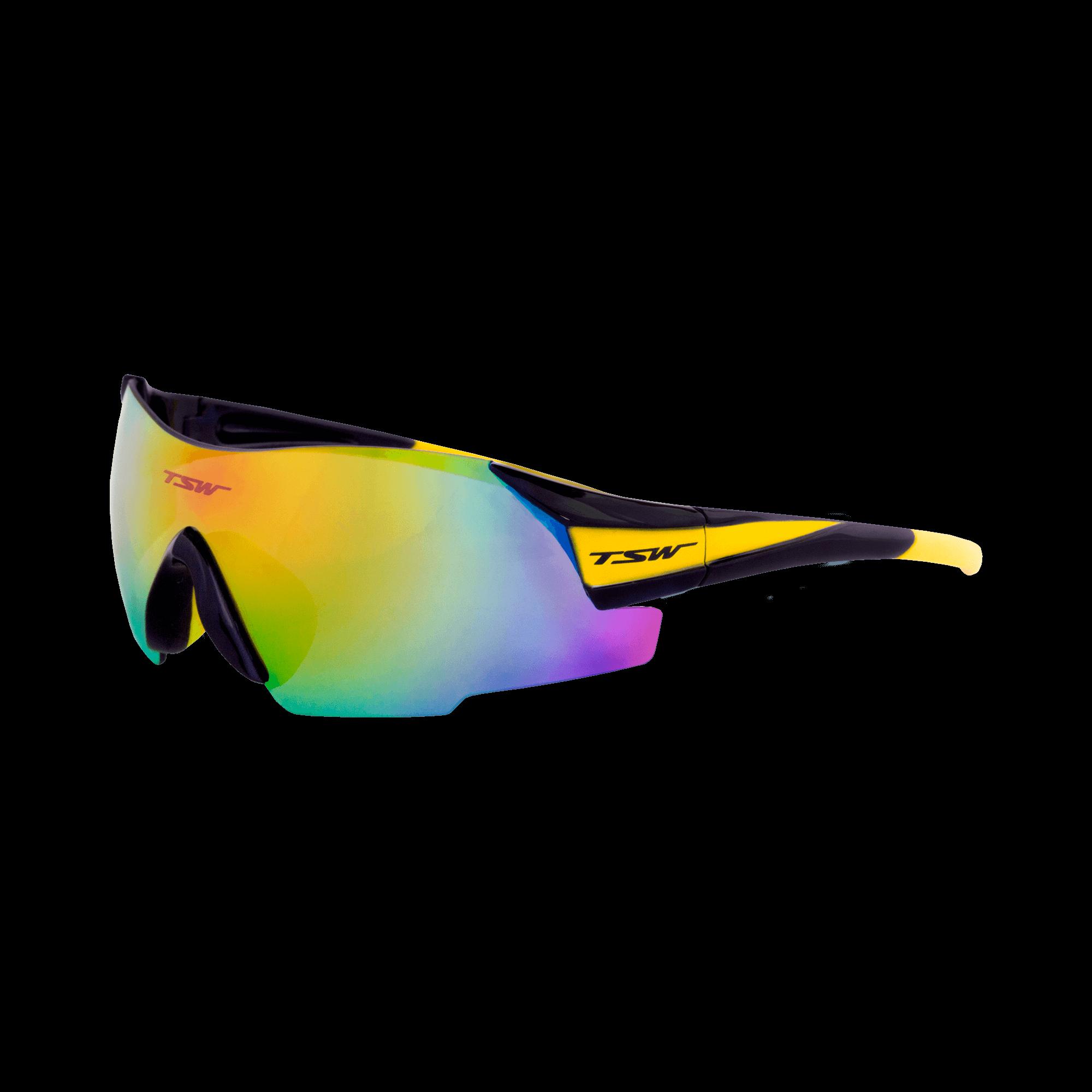 548c862c89 Óculos de ciclismo VITALUX - Amarelo e preto