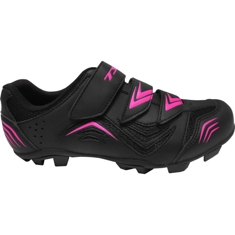 Sapatilha mtb New Fit - Preto e Rosa, 37
