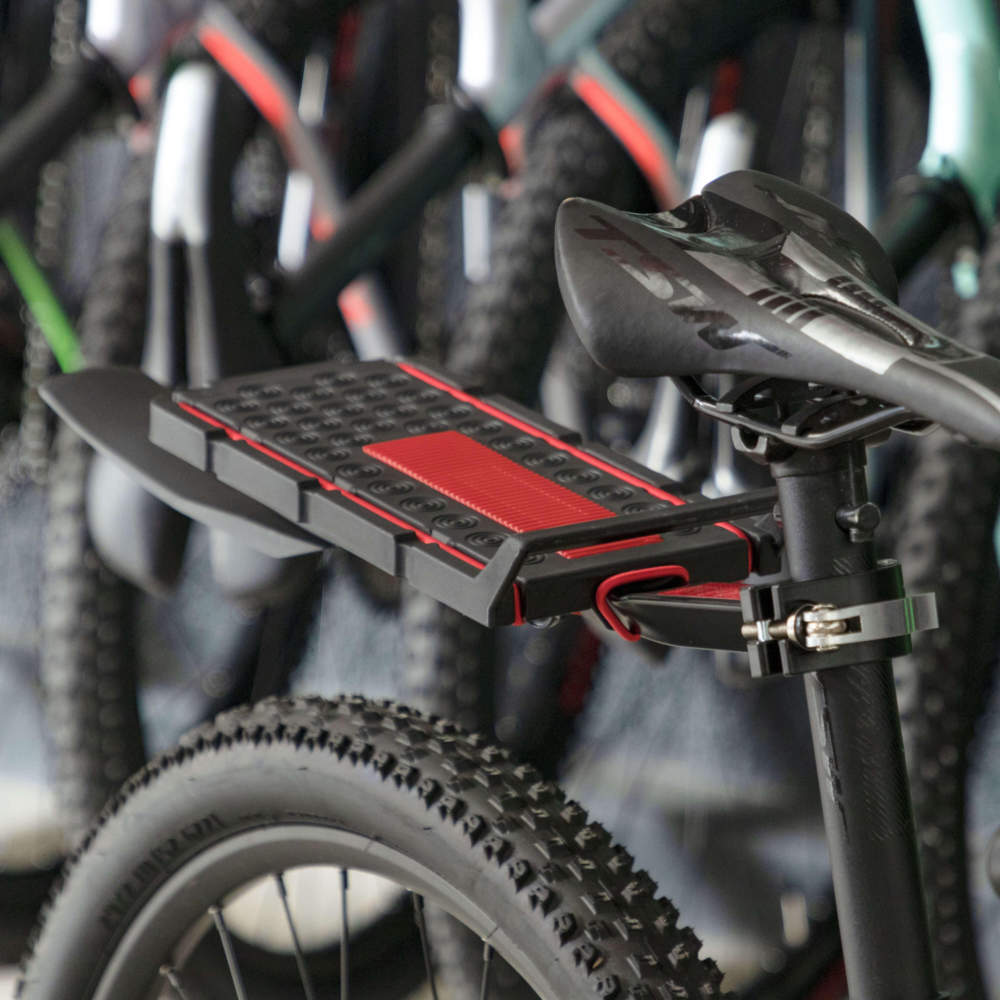 Bagageiro traseiro TSW p/ bicicleta mod 03 11