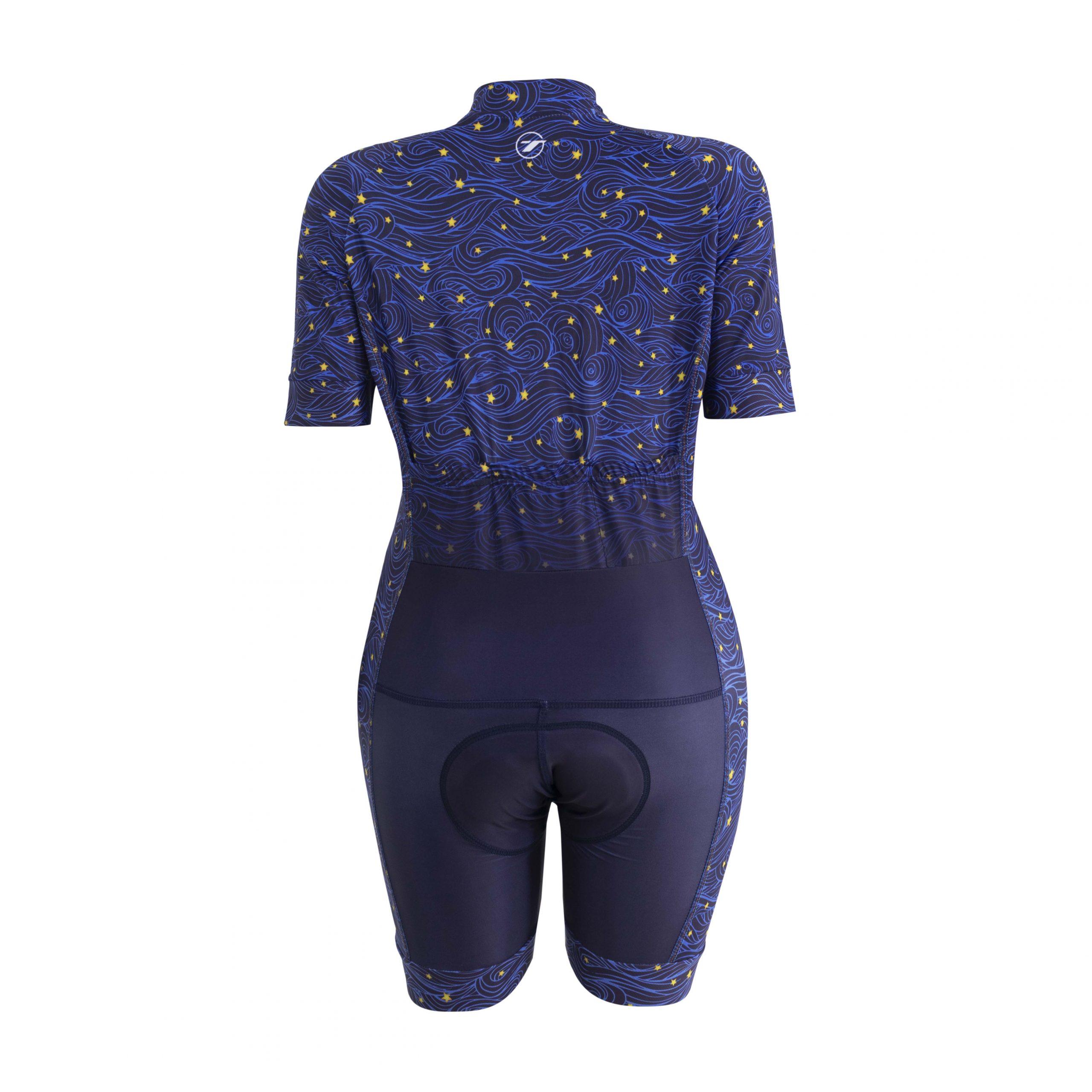 Macaquinho para ciclismo WOMAN FASHION Star 3