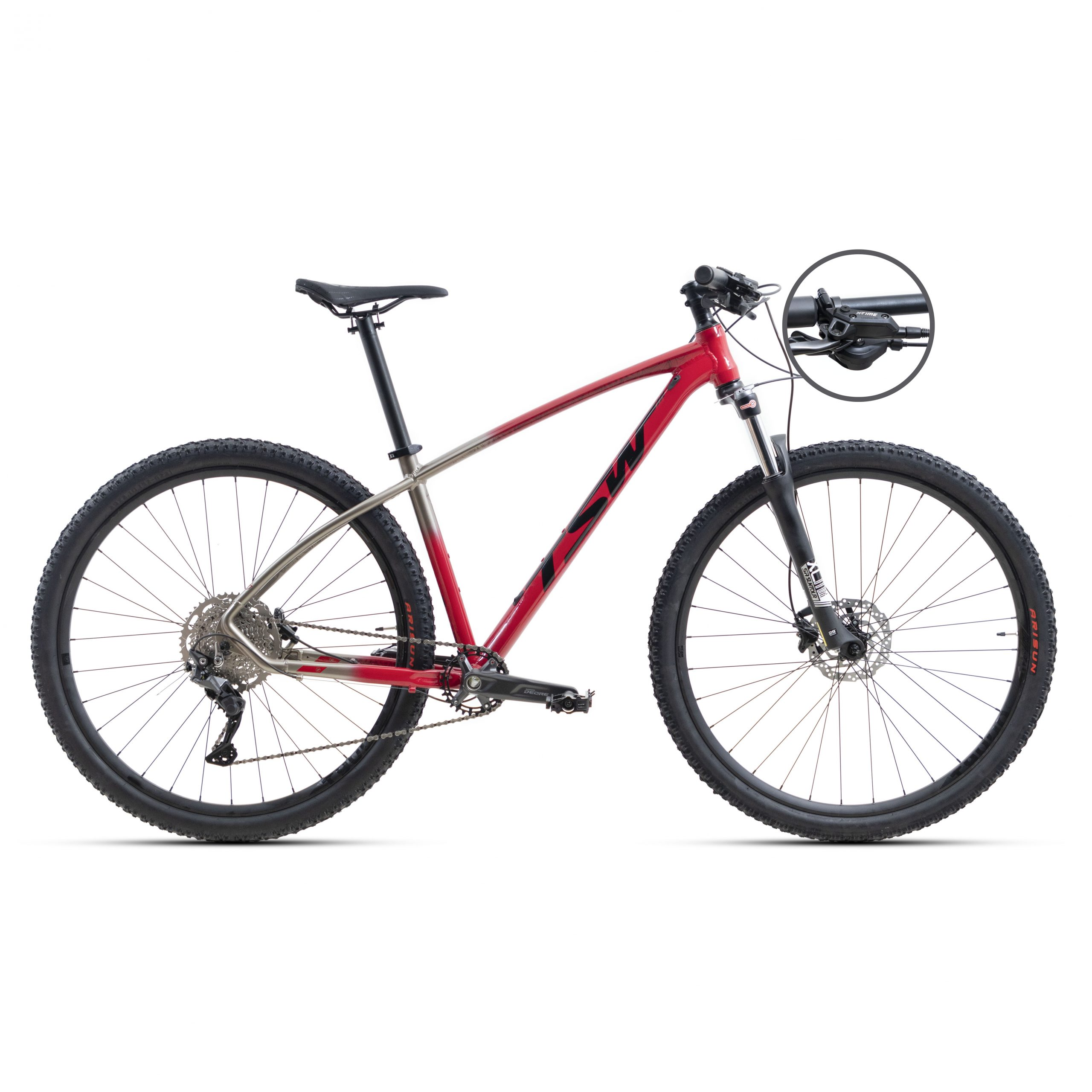 Bicicleta TSW All Quest (Full Suspension) 12