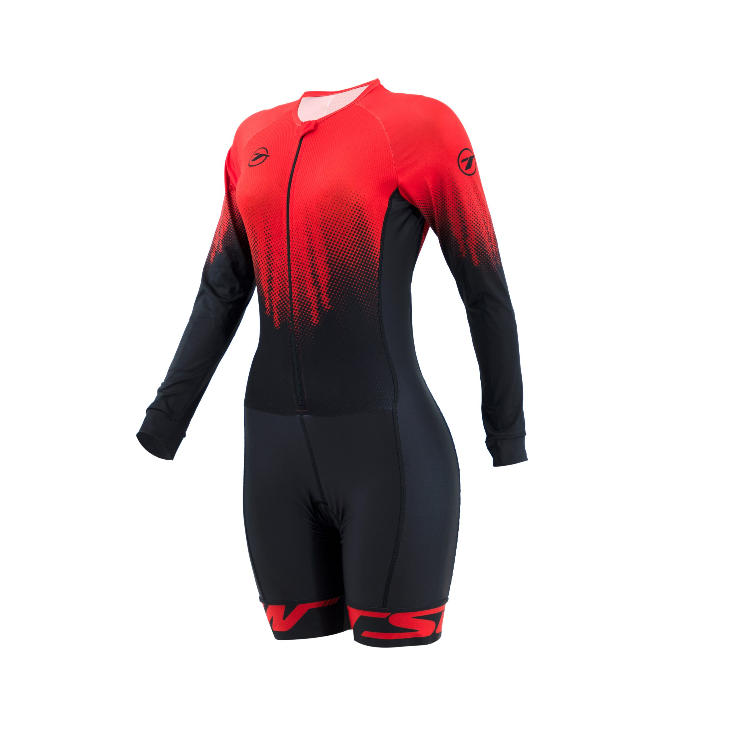 Macaquinho manga longa para ciclismo Team Race 3